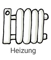 Icon Heizung