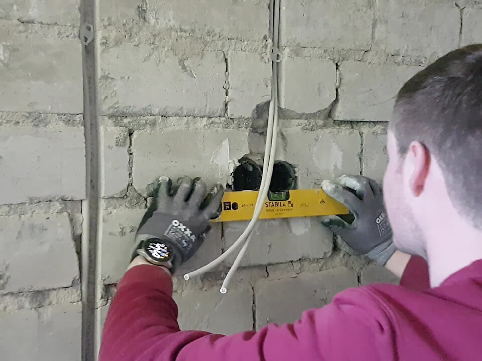 Elektroinstallation im Neubau